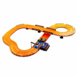 Kidz Tech Hot Wheels 12.4 ft. Battery Operated Slot Track Set