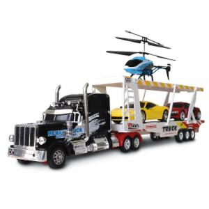 Cityworld King of the Road 4 Piece Vehicle Toy Set