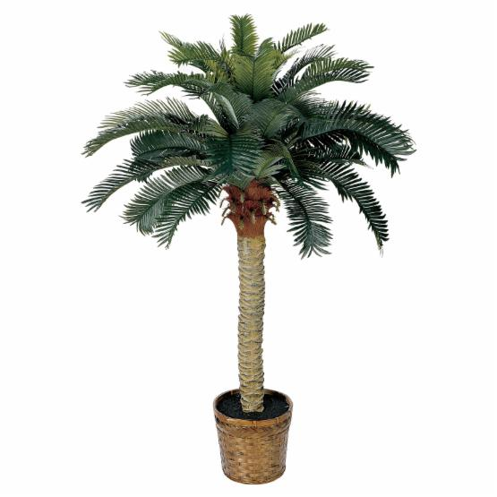 Nearly Natural 4 ft. Sago Silk Palm Tree