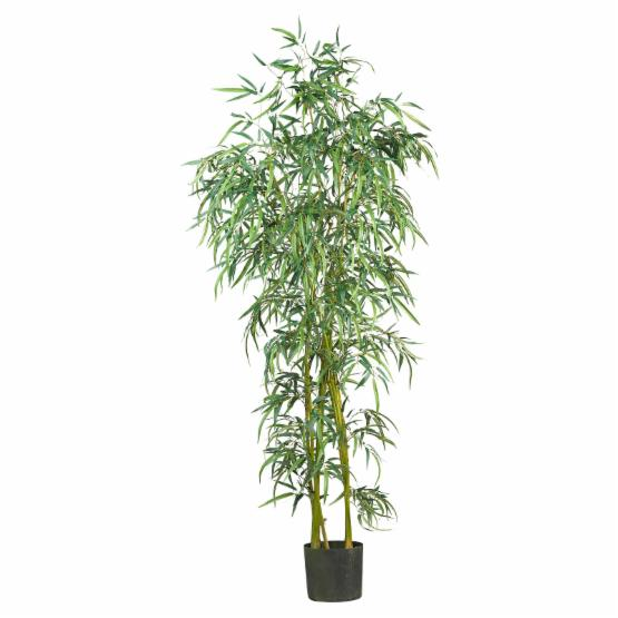 Nearly Natural Fancy Style Slim Bamboo Silk Tree