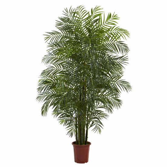 Nearly Natural 7.5 ft. UV Resistant Areca Silk Palm Tree