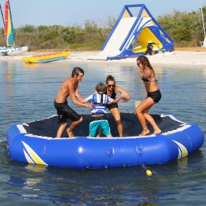 Aquaglide Inversible Water Bouncer and Platform