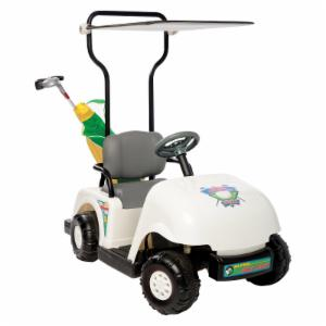 Kid Motorz Junior Pro Golf Cart Battery Powered Riding Toy - White