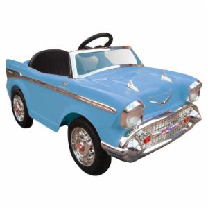 Kid Motorz Chevy Bel Air Battery Powered Riding Toy - Blue