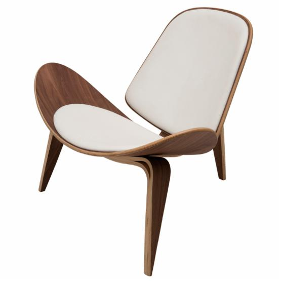 Nuevo Artemis Leather Lounge Chair