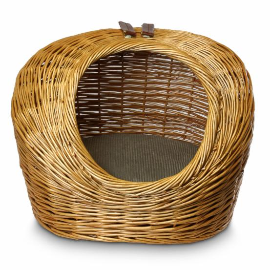 Snoozer Luxury Wicker Cat Basket & Bed - Small
