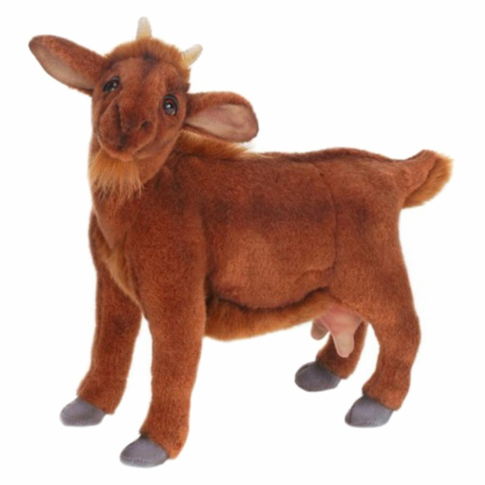 Hansa Brown Goat Plush Toy - 190370
