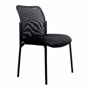 OFM Stacking Upholstered Armless Side Chair