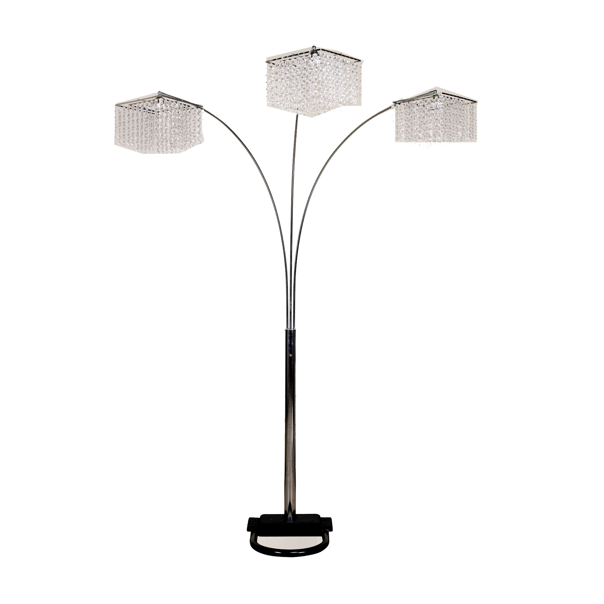 Adesso belle arc floor lamp hayneedle mozeypictures Image collections