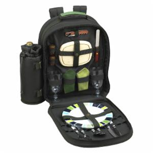 Picnic At Ascot Eco Picnic Backpack for 2 - Hunter Green