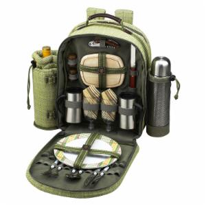 Picnic At Ascot Hamptons Picnic Backpack with Coffee Service for 2