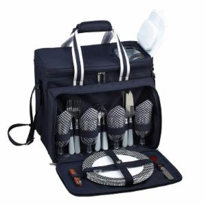 Picnic At Ascot Bold Insulated Picnic Cooler Set for 4