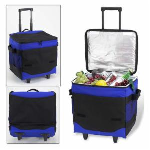 Picnic At Ascot 60 Can Collapsible Rolling Picnic Cooler
