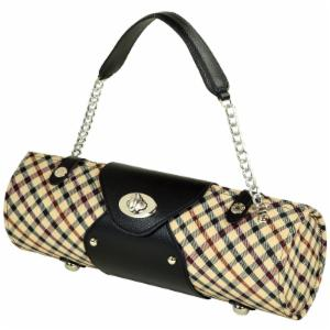 Picnic at Ascot Wine Carrier and Purse - London Plaid
