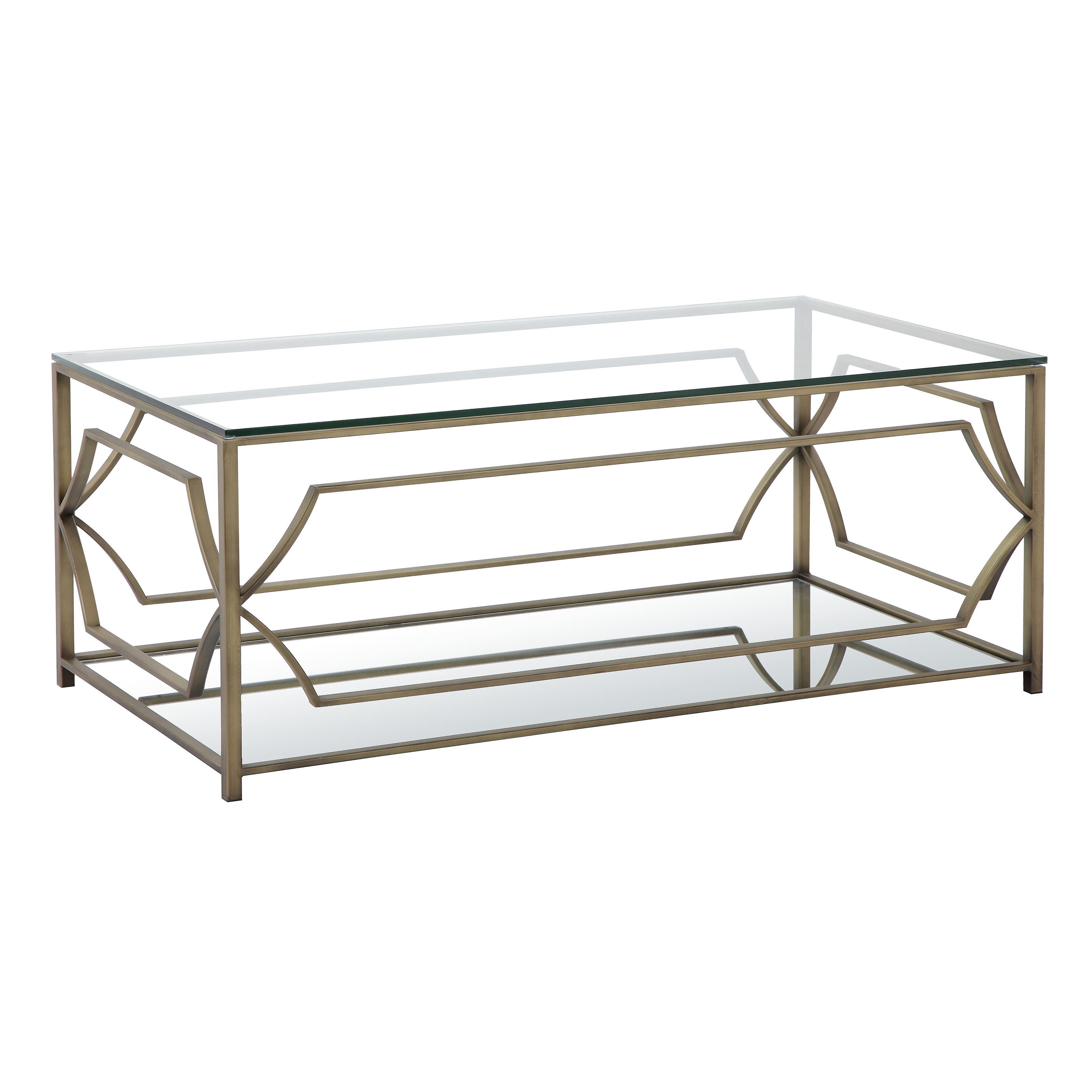 QUICK VIEW. Pangea Home Edward Rectangular Coffee Table
