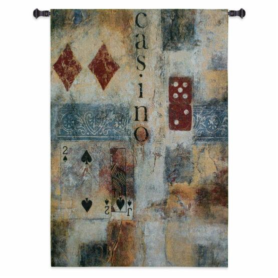Fine Art Tapestries Casino Abstract Wall Tapestry