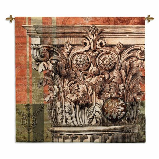 Fine Art Tapestries Iconic Capital Wall Tapestry