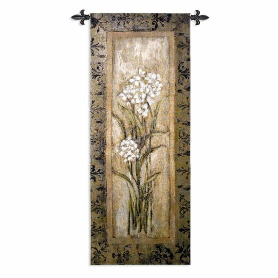 Fine Art Tapestries Paperwhite I Wall Tapestry