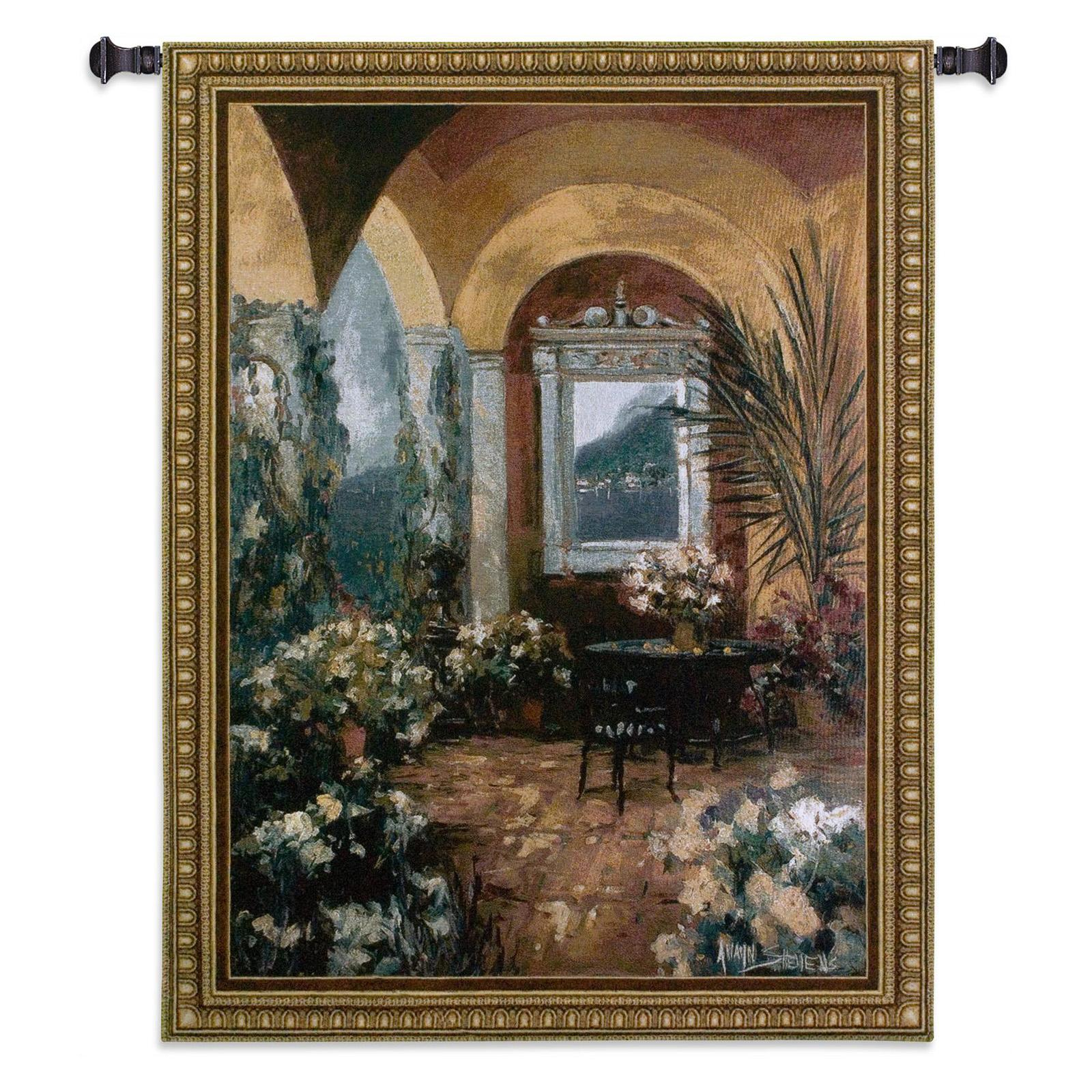 Fine Art Tapestries The Veranda Wall Tapestry - 2242-WH