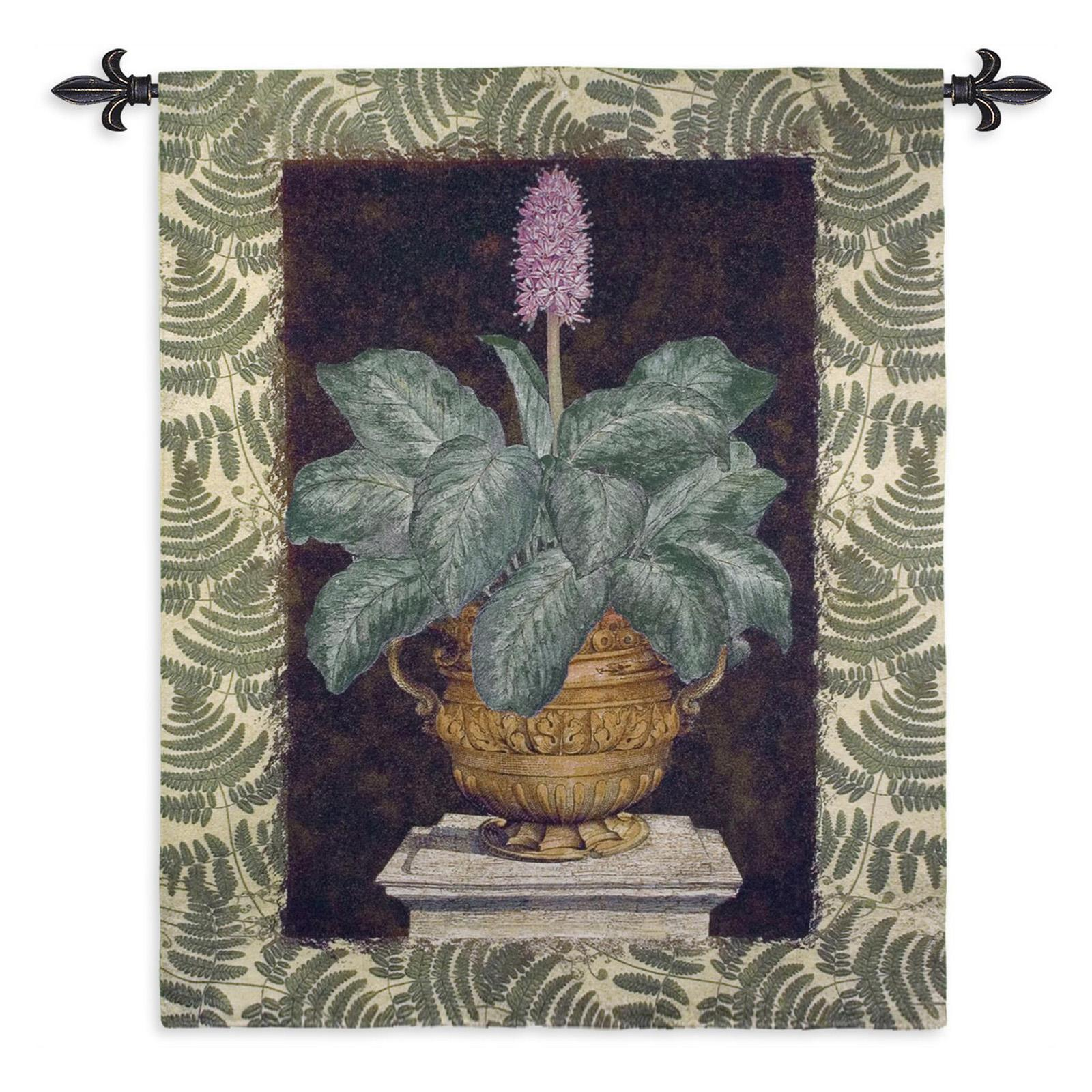 Fine Art Tapestries Tropical Urn II Wall Tapestry - 4566-WH