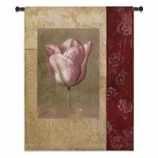 Fine Art Tapestries Tulip Rose Wall Tapestry