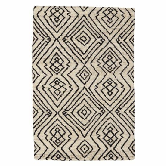 Fortress-Nomad 1914 Hand Knotted Rectangle Area Rug - Ivory
