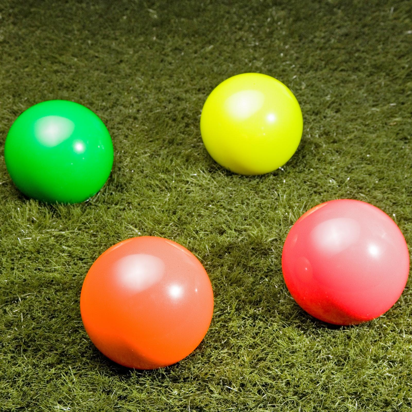 Epco 110mm Tournament Glo Replacement Bocce Ball Yellow -...