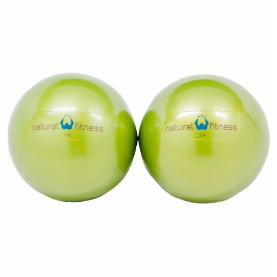 Natural Fitness Pair Soft Weighted Balls