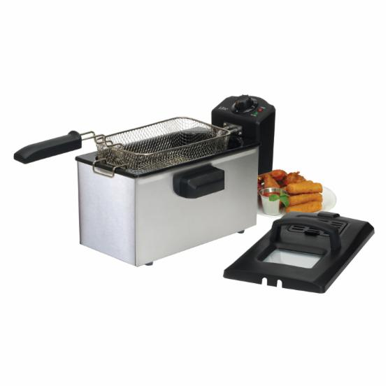 Maxi-Matic Elite Cuisine 3.5 qt. Stainless Steel Immersion Deep Fryer
