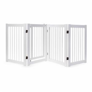 Primetime Petz 360° Configurable Gate with Door 30 in. - Walnut