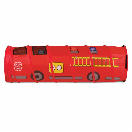 Pacific Play Fire Engine 6 ft. Tunnel