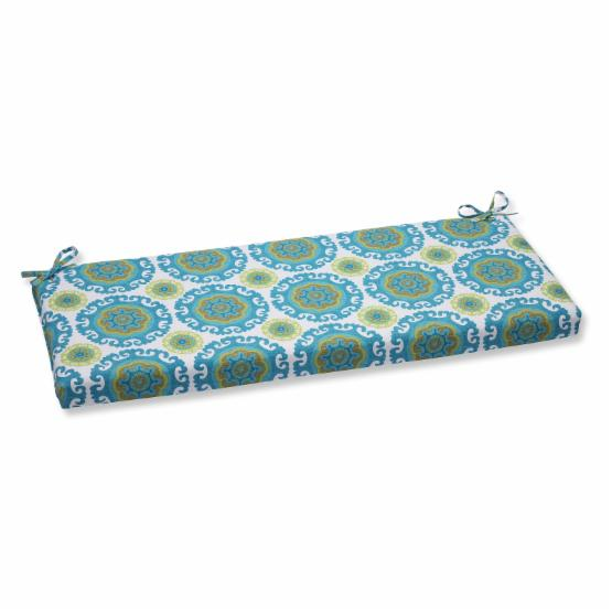 Pillow Perfect Suzani 45 in. Bench Cushion