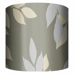 PTM Images Golden Leaves Drum Lamp Shade