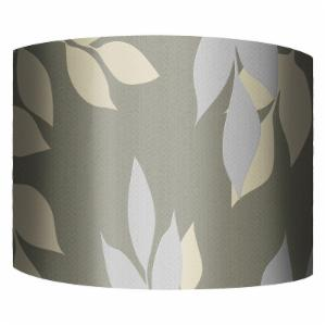 PTM Images Golden Leaves II Drum Lamp Shade