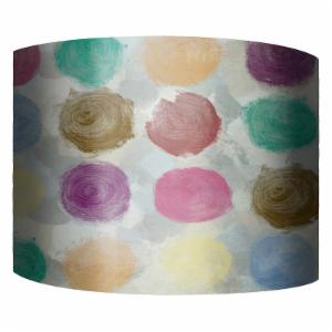 PTM Images Color Dots II Drum Lamp Shade