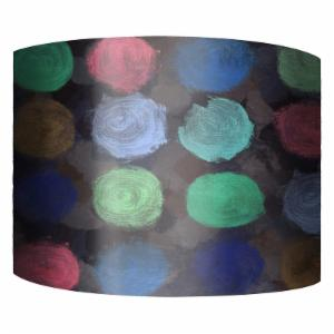 PTM Images Neon Dots II Drum Lamp Shade