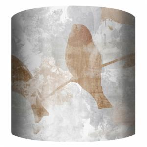 PTM Images Birds Drum Lamp Shade