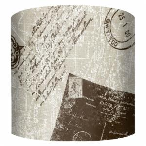PTM Images Travel Drum Lamp Shade