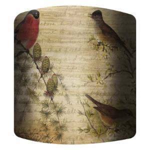PTM Images Birds B Drum Lamp Shade