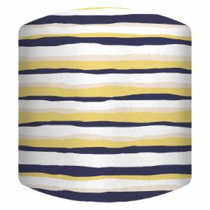 PTM Images Stripes Drum Lamp Shade