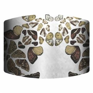 PTM Images Butterflies Drum Lamp Shade
