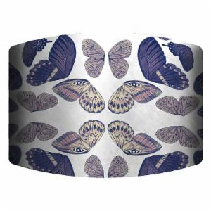 PTM Images Butterflies II Drum Lamp Shade