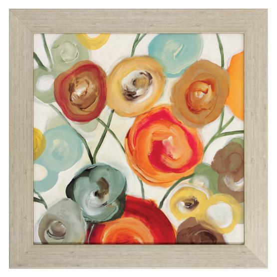 Blossom Framed Wall Art - Set of 2 - 22W x 22H in. ea.