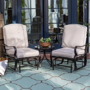 Belham Living Cameron Single Glider Set with FREE Side Table