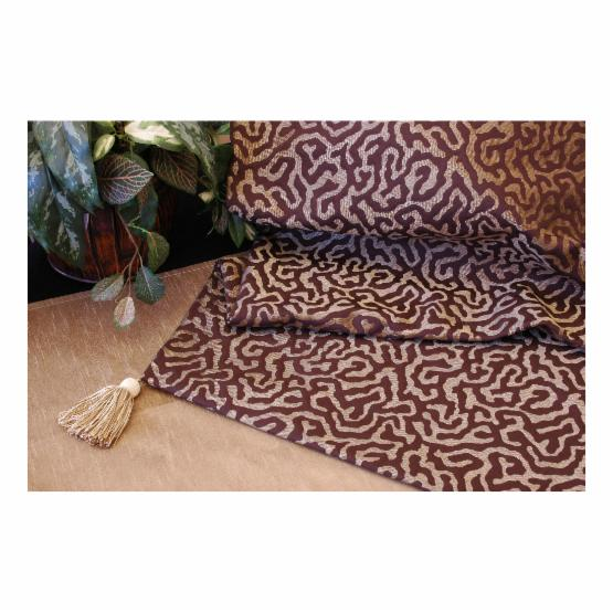 Pacific Table Linens Illusions Reversible 43 x 43 Square Table Topper