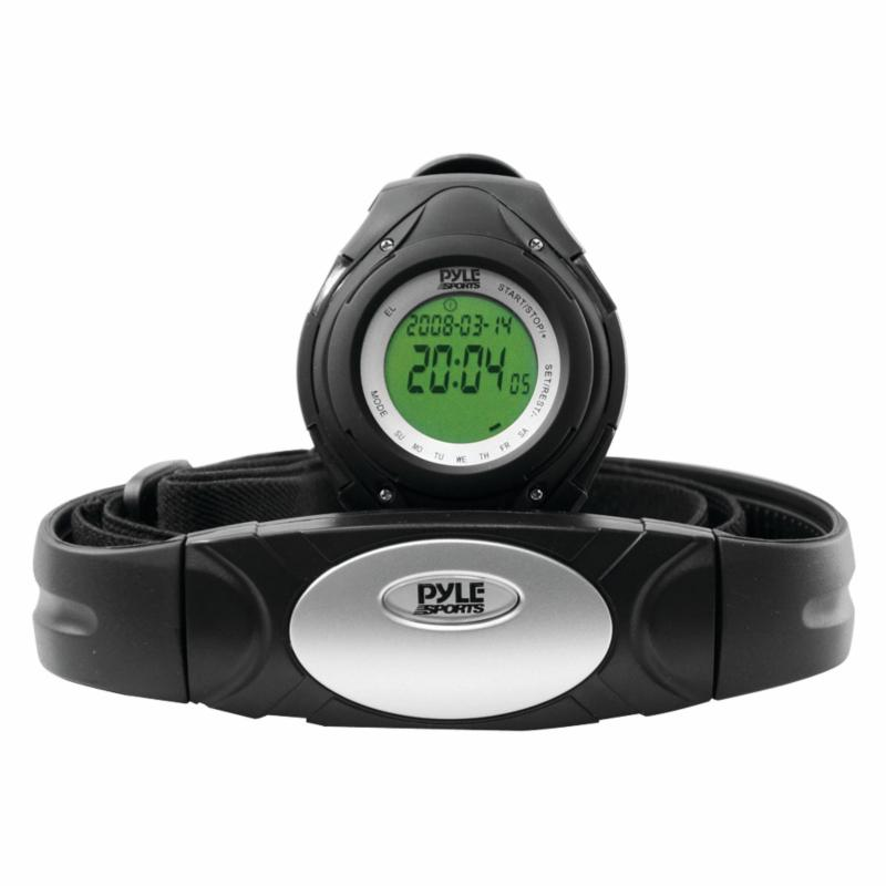 Pyle PHRM38 Heart Rate Monitor Watch - PYLPHRM38BK