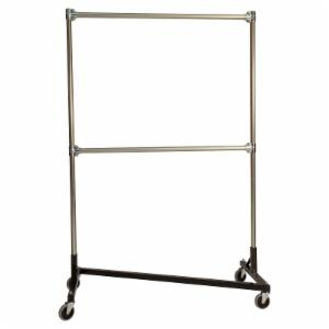 Quality Fabricators Heavy Duty Rolling Z Rack with 72 in. Uprights