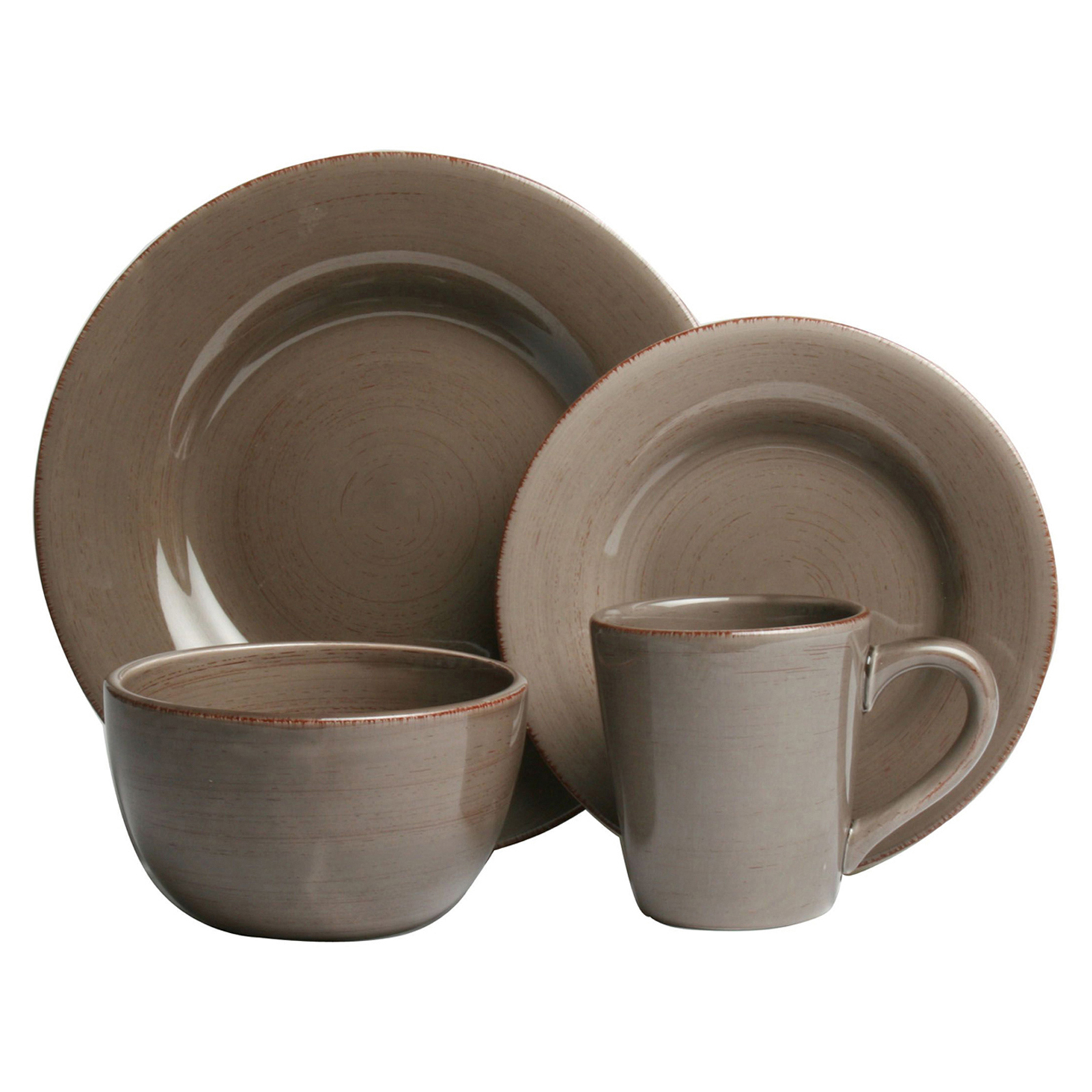 Tag Sonoma 16 Piece Dinnerware Set  sc 1 st  Hayneedle & Solids Dinnerware Sets | Hayneedle