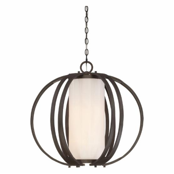 Quoizel Barstow BRW2824IN Pendant - 24W in. - Iron Gate