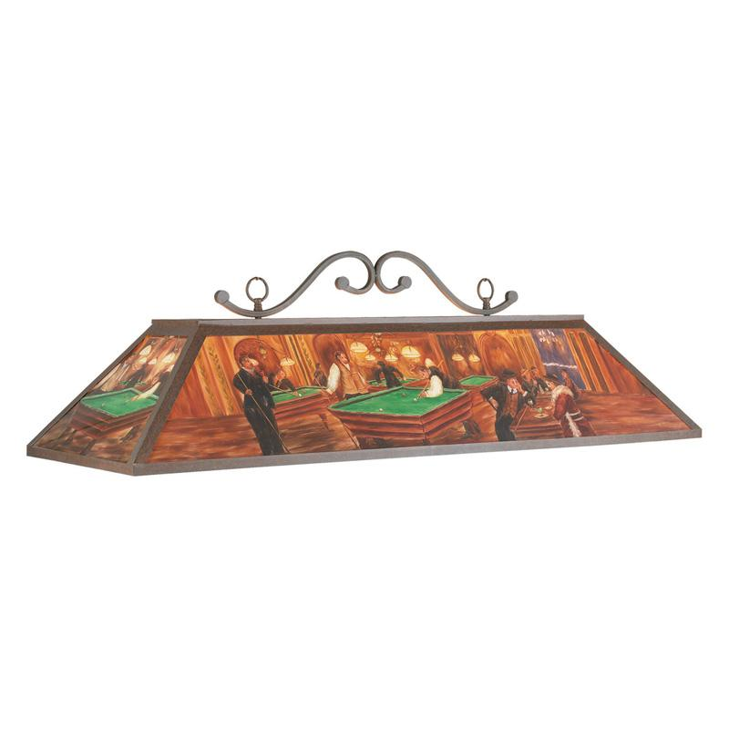 RAM Gameroom RP48 BHALL 48W in. Hand-Painted Billiard Lig...